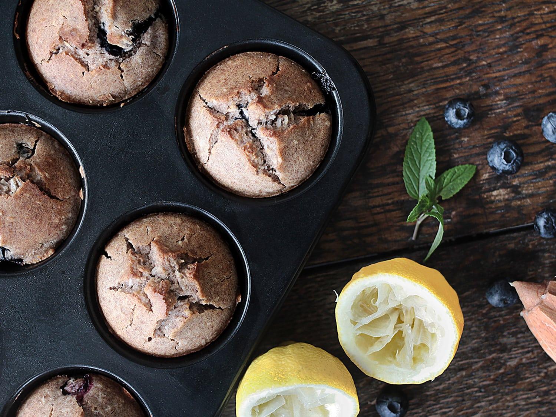 K33 Kitchen vegan gluten-free bluebarries muffin 1
