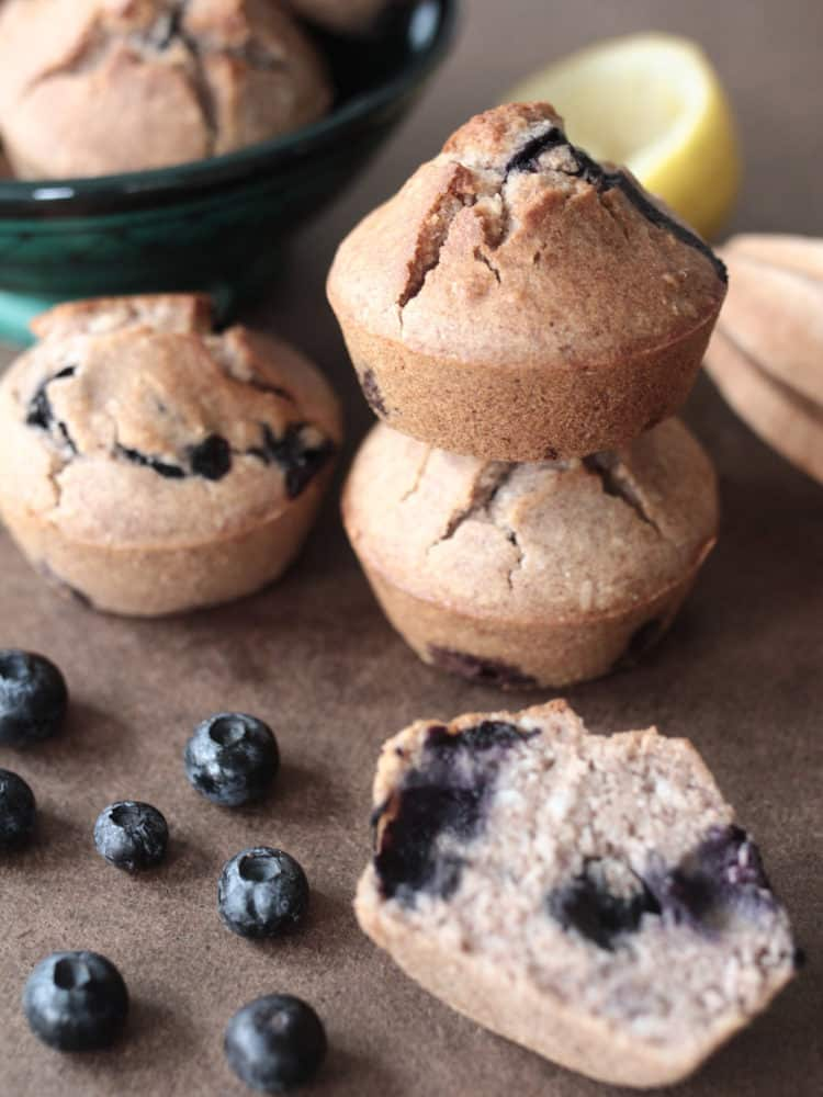 K33 Kitchen vegan gluten-free bluebarries muffin 2