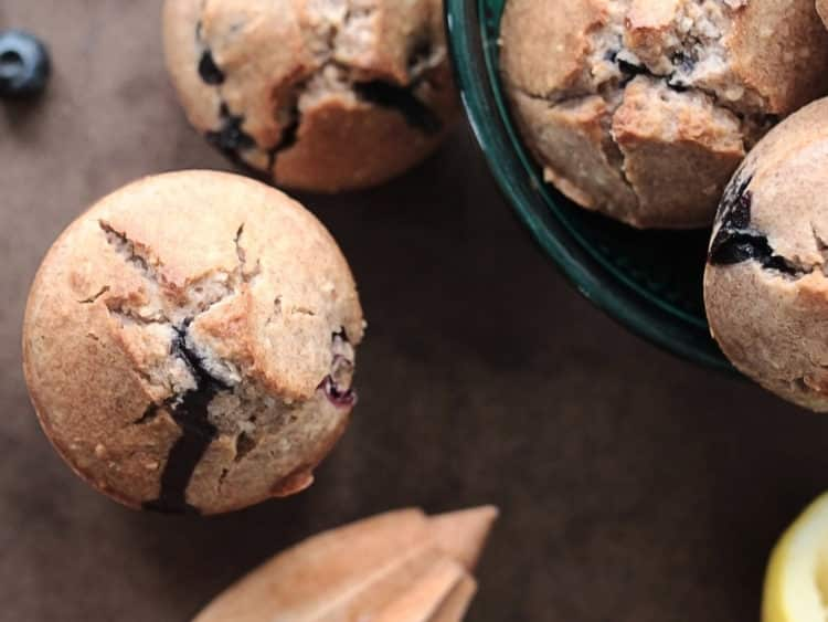 K33 Kitchen vegan gluten-free bluebarries muffin 3