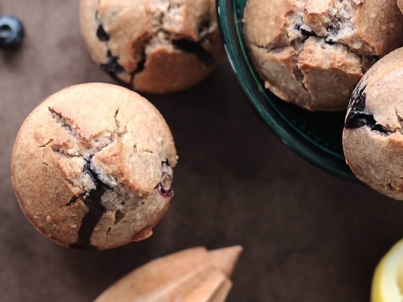 K33 Kitchen vegan gluten-free bluebarries muffin 3