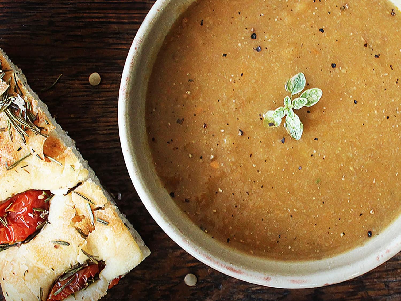 carrot lentils soup 2
