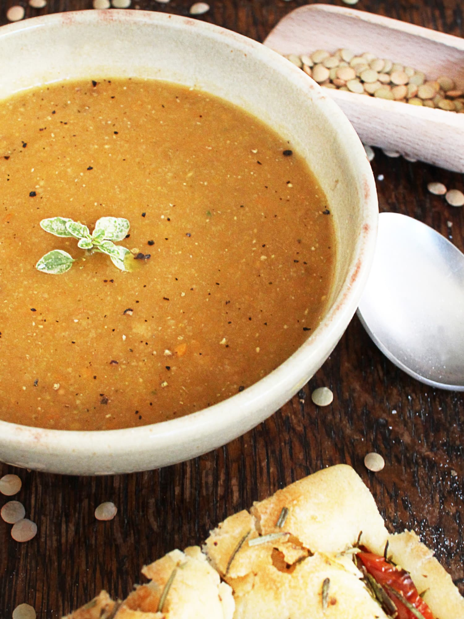 carrot lentils soup 3