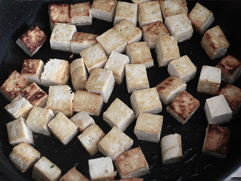 Kale tofu mushroom quinoa 2