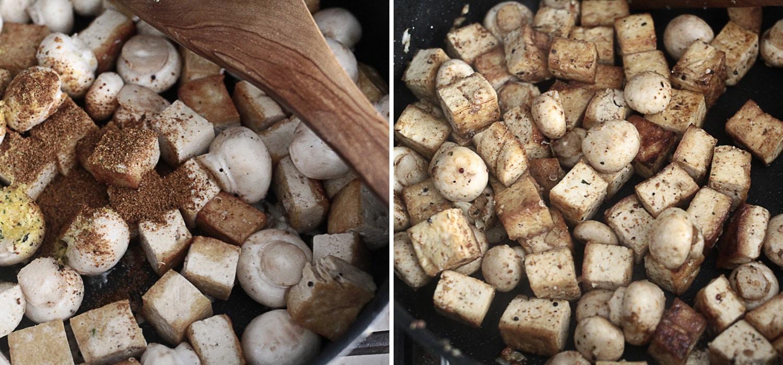 Kale tofu mushroom quinoa 3