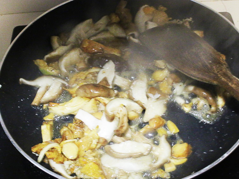 Shitaki mushroom donburi rice bowl 2