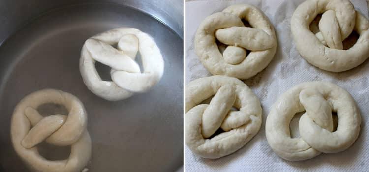 Sesame soft pretzels