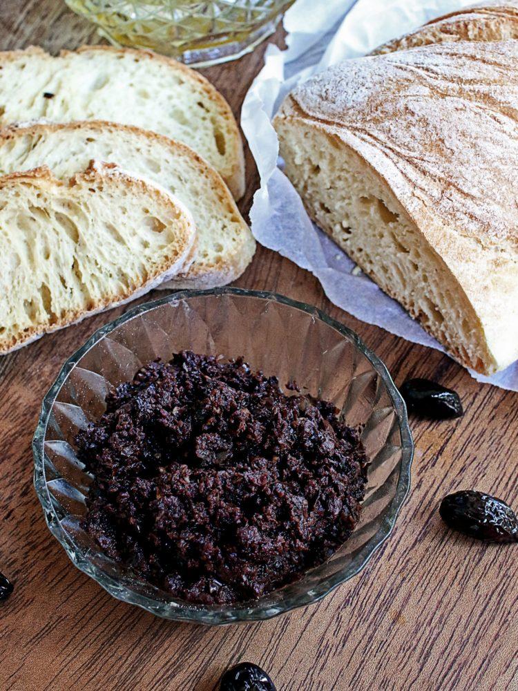 Black olive paste tapenade