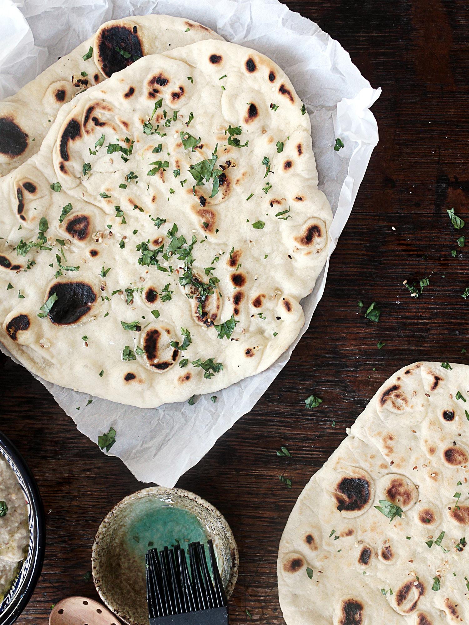 Garlic naan bread 9
