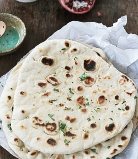 K33kitchen garlic naan bread feature
