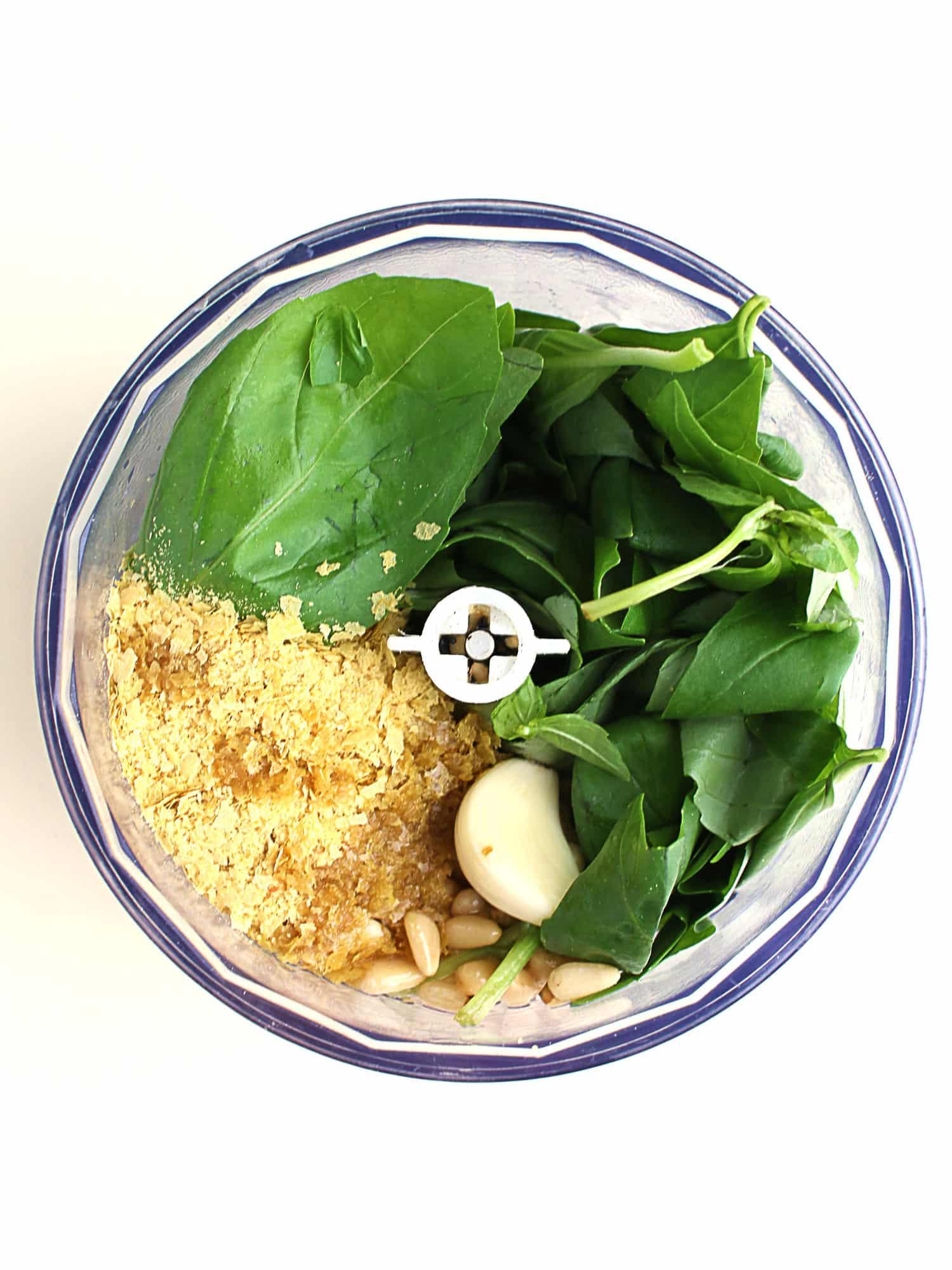 K33kitchen homemade vegan pesto 2