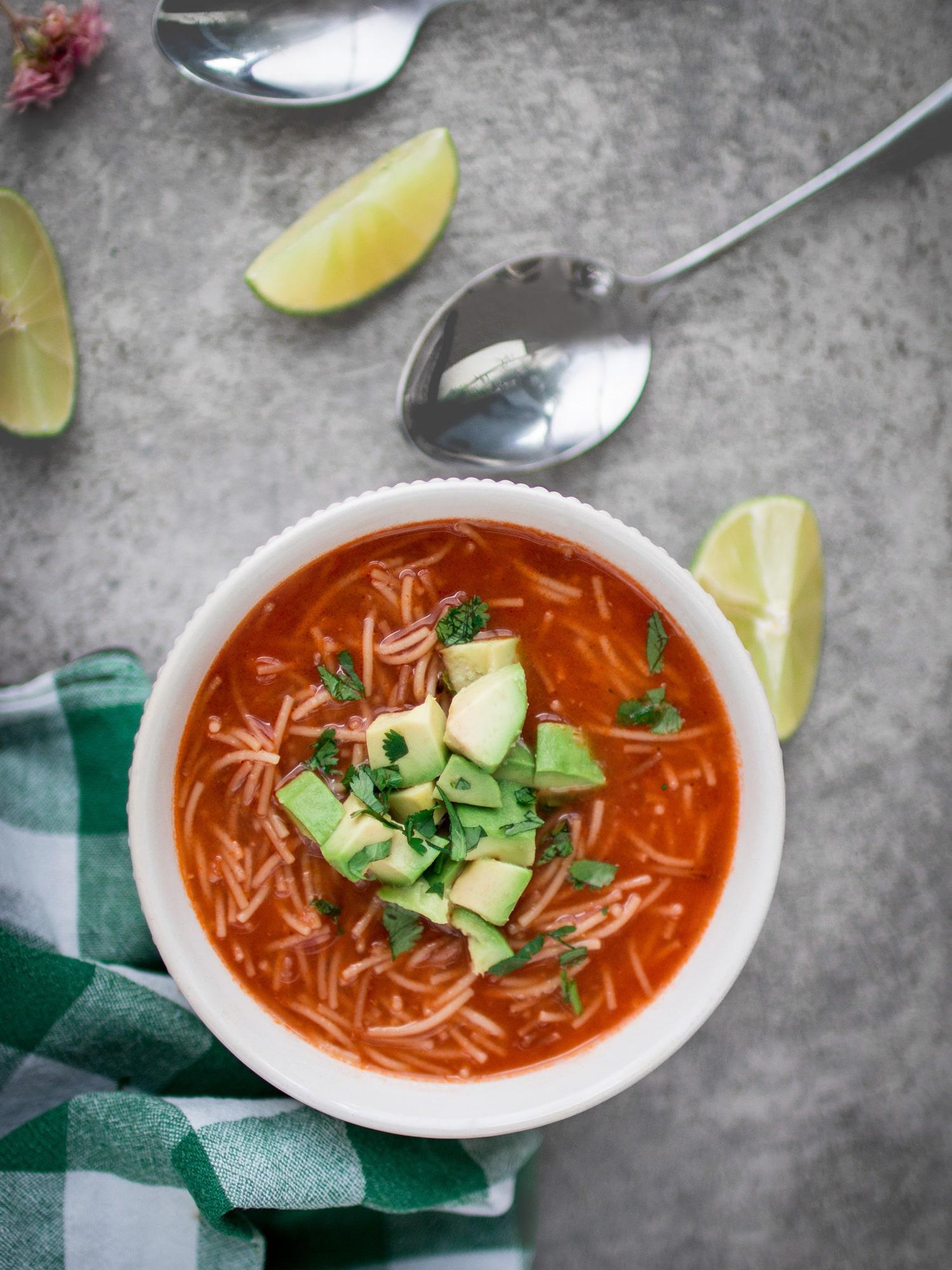 k33kitchen Sopa De Fideo Mexican Noodle 6