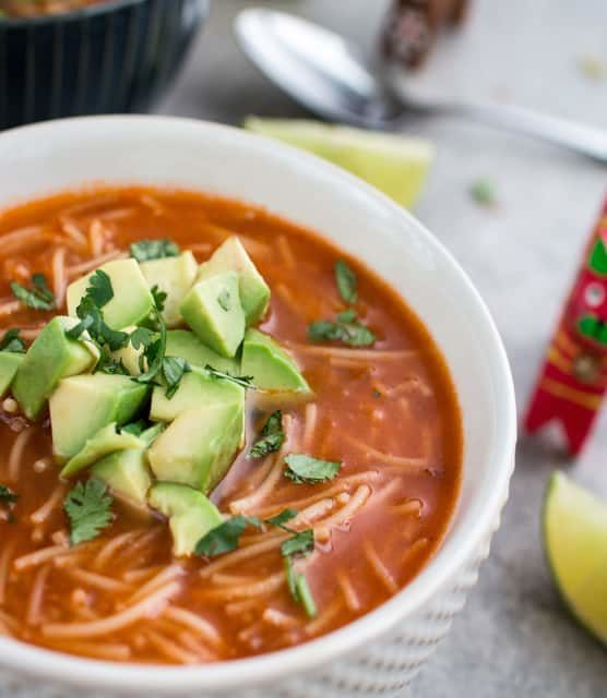 k33kitchen Sopa De Fideo Mexican Noodle Feature