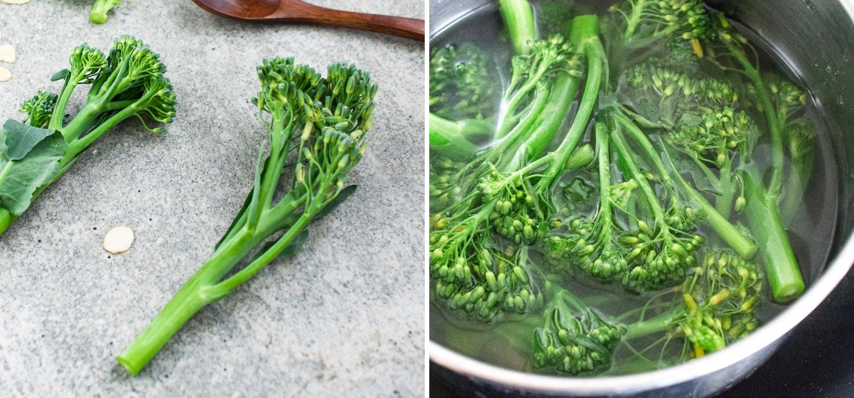 k33kitchen tenderstem broccoli with garlic almond 2