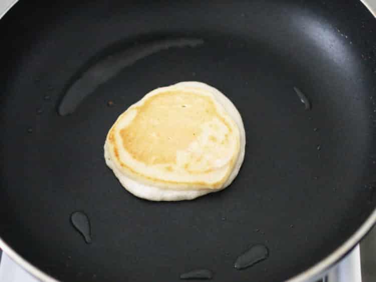 k33kitchen vegan banana blueberries pancake 3