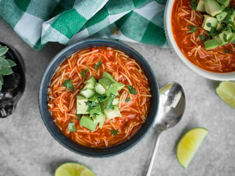 k33kitchen Sopa De Fideo Mexican Noodle