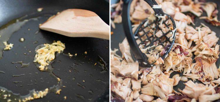 K33 Kitchen vegan pulled pork jackfruit burger