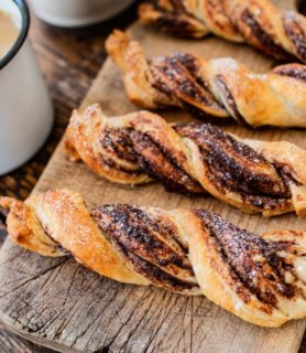 Cinnamon chocolate twist