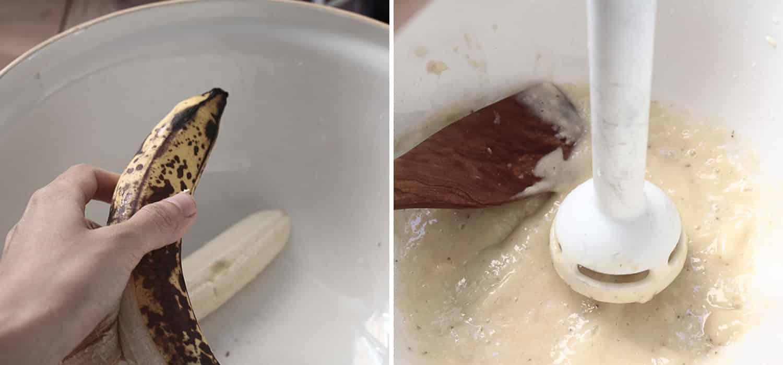 Very moist banana cake