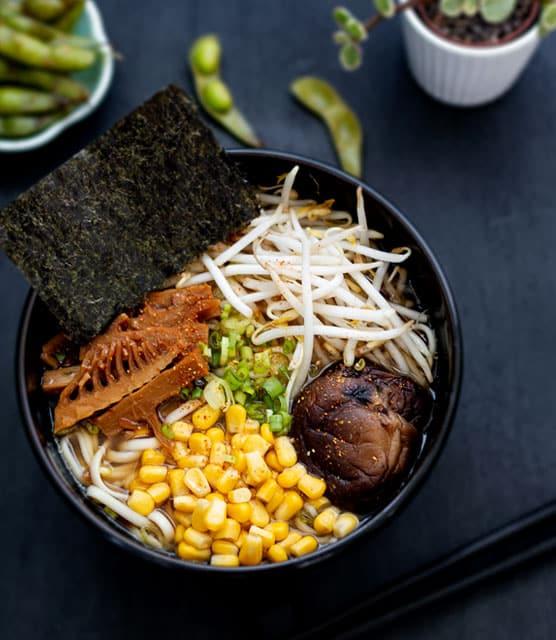 Japanese shoyu ramen
