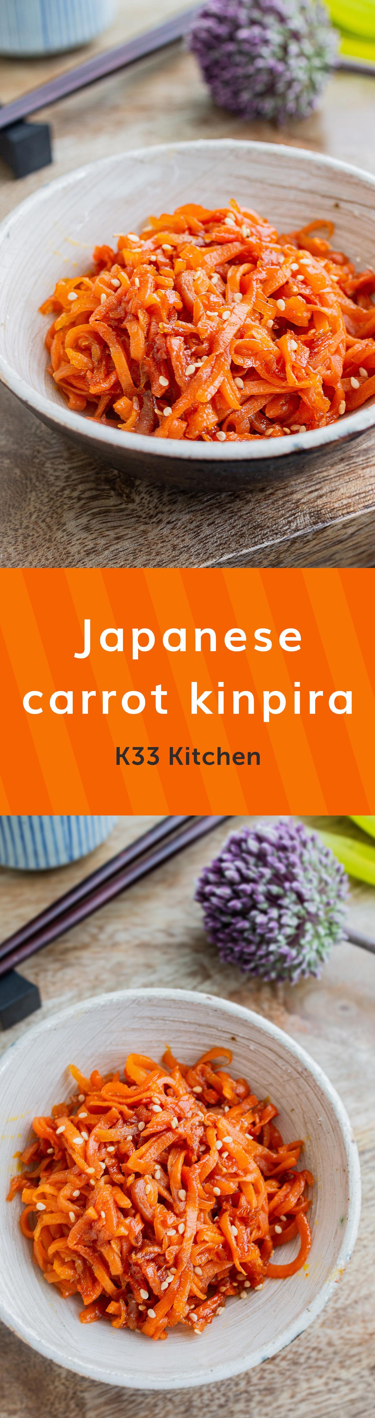 Japanese carrot kinpira – K33 Kitchen