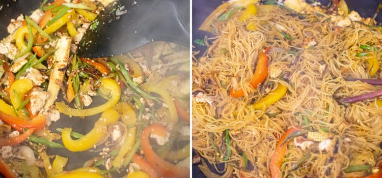 Vegan Singapore noodles – K33 Kitchen