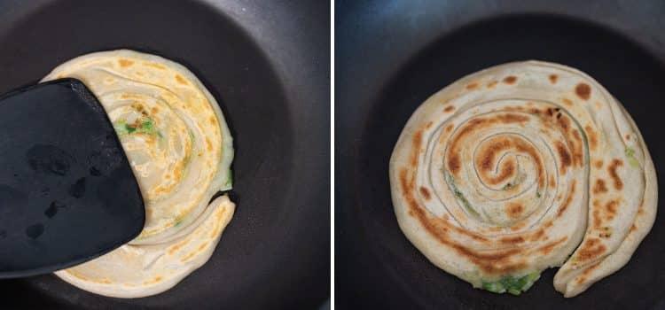 k33kitchen spring onion pancake cong you bing