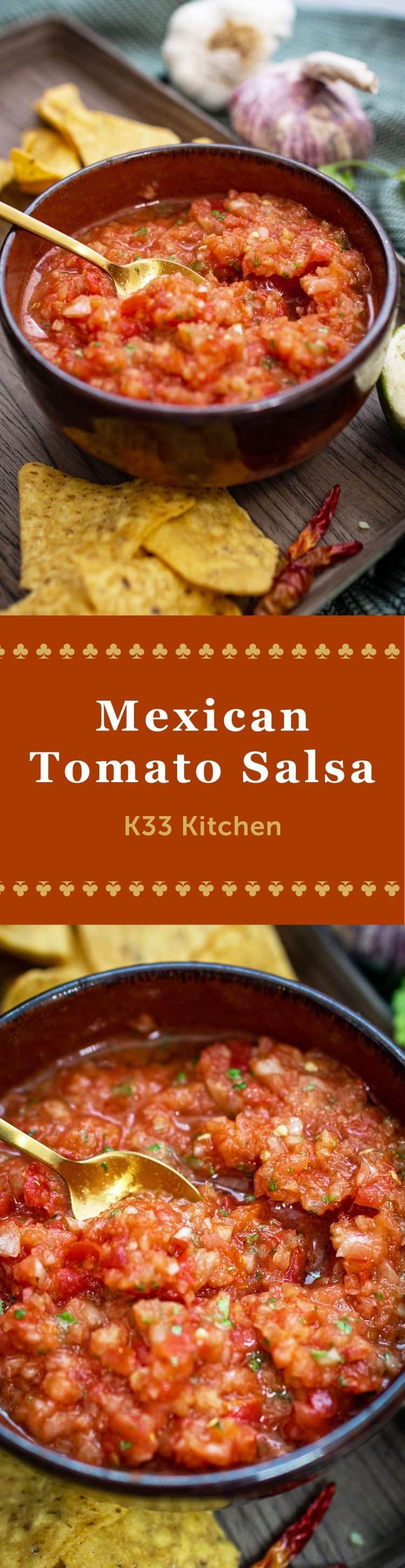 K33Kitchen mexican tomato salsa