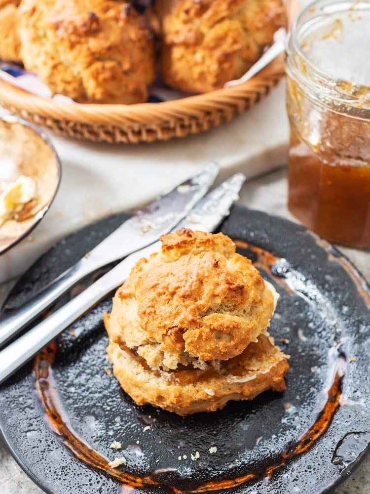 K33Kitchen maple syrup breakfast scone
