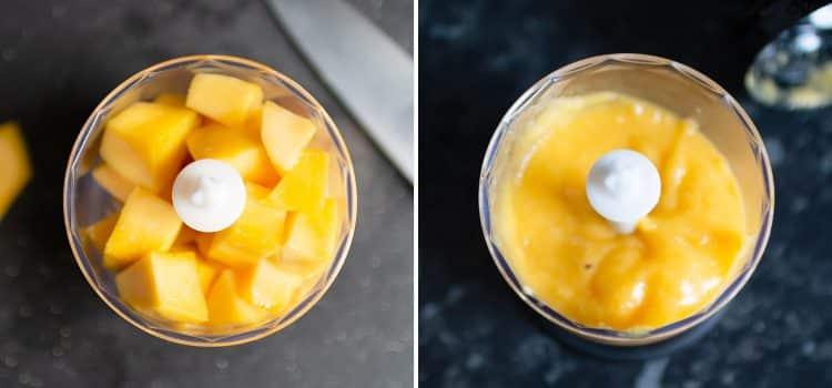 K33Kitchen vanilla chiaseed mango pudding