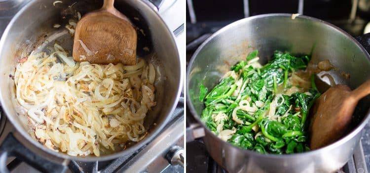 K33Kitchen vegan spinach soup