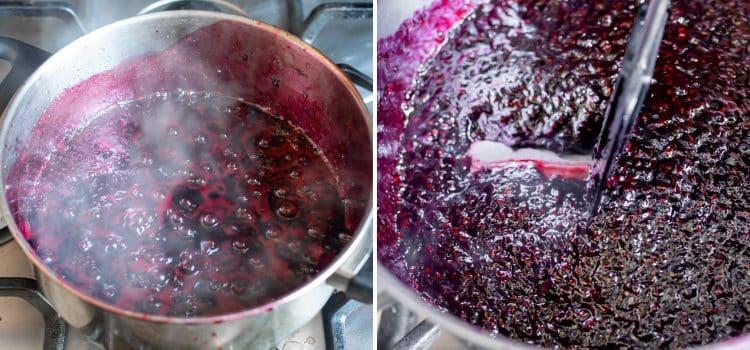 Wild blackberry jam (no pectin)