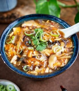 K33Kitchen vegan hot sour soup